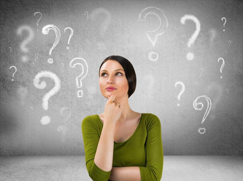 Woman asking questions about sexual wellness and health