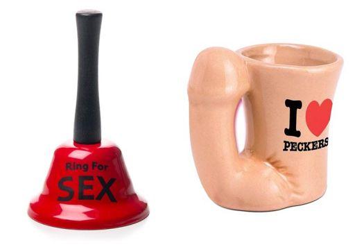 Novelty adult bell and mug
