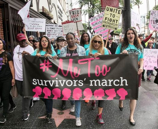 #metoo sexual assault and violence awareness march
