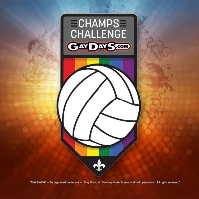 Gay volleyball challenge