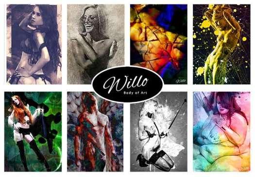 Digital artwork creator specialising in nude images