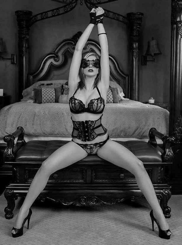 Submissive who follows and leads