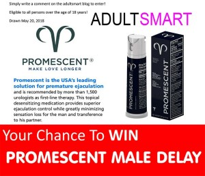 Win Promescent Male Delay Spray Valued Over $100!