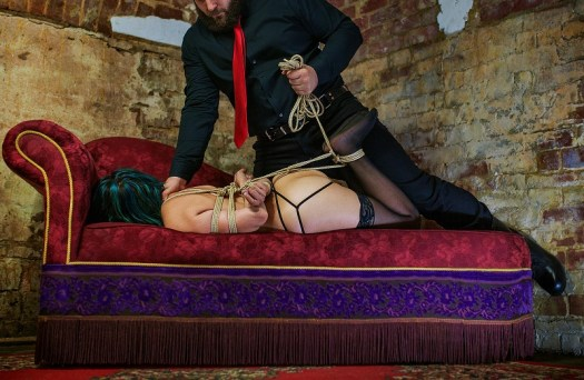 Sir James Engaging with Kink and Rope Bondage