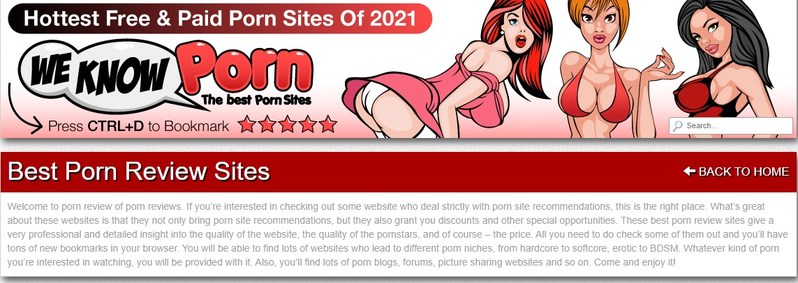 porn reviews
