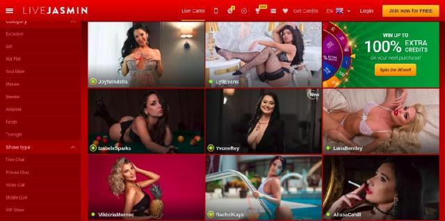 LiveJasmin fetish sex cams