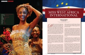 VANNY REIS IS THE NEW MISS WEST AFRICA INTERNATIONAL