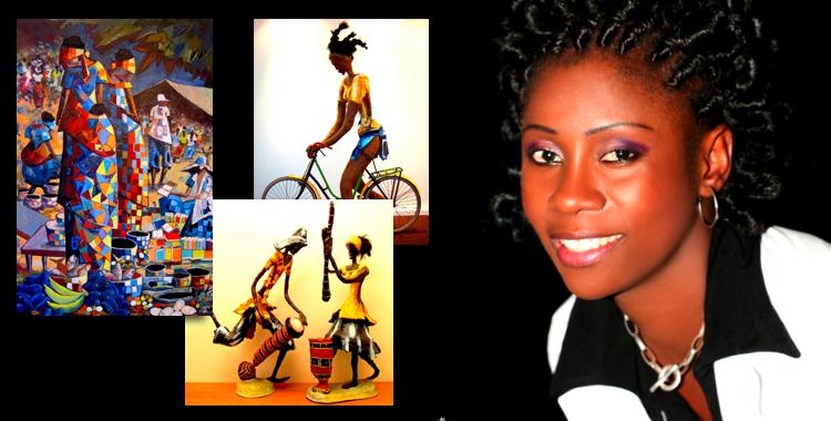 Rhode Bath-Shéba Makoumbou: An authentic African artist
