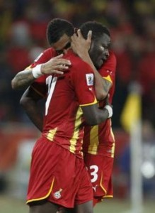 Uruguay beats Ghana 4-2 in penalty shootout