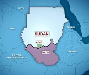 SUDAN - Splitting the largest African country.