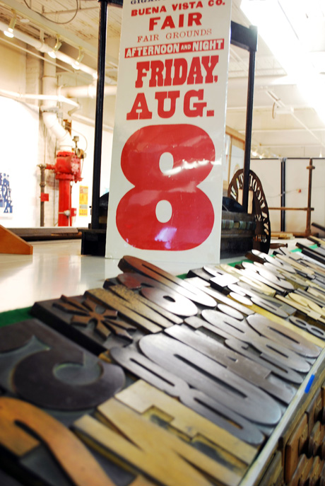 Hamilton Wood Type & Printing Museum, Two Rivers, Wis.