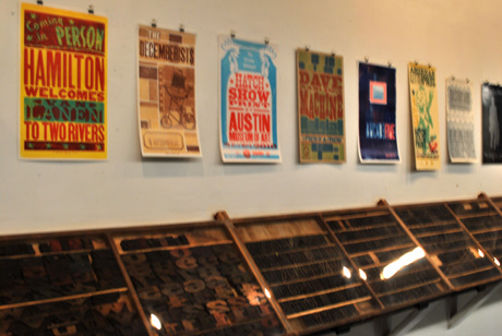 Learn letterpress at Hamilton Wood Type & Museum, Two Rivers, WI
