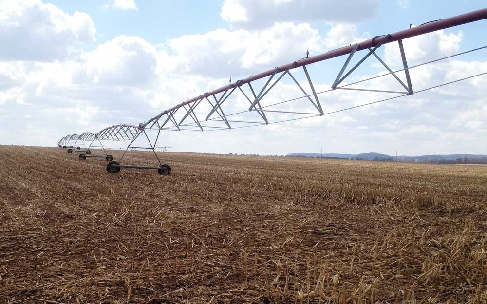 Irrigation in Sauk County, WI