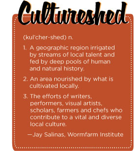 Definition of culture shed, by Jay Salinas, Wormfarm Institute