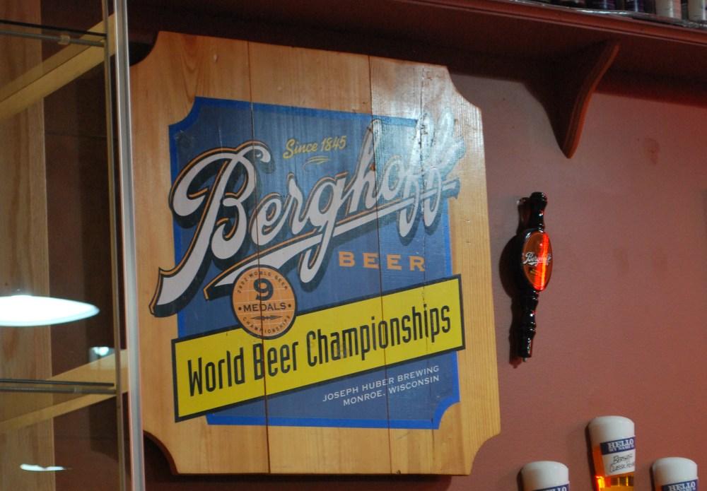 Berghoff Beer logo