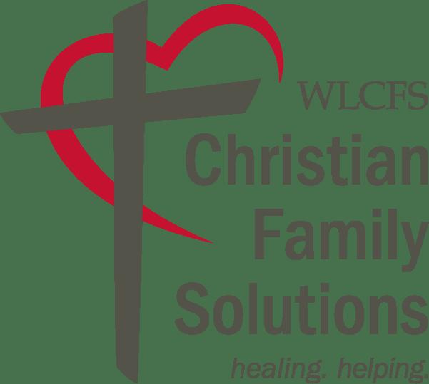 WLCFS Christian Family Solutions logo
