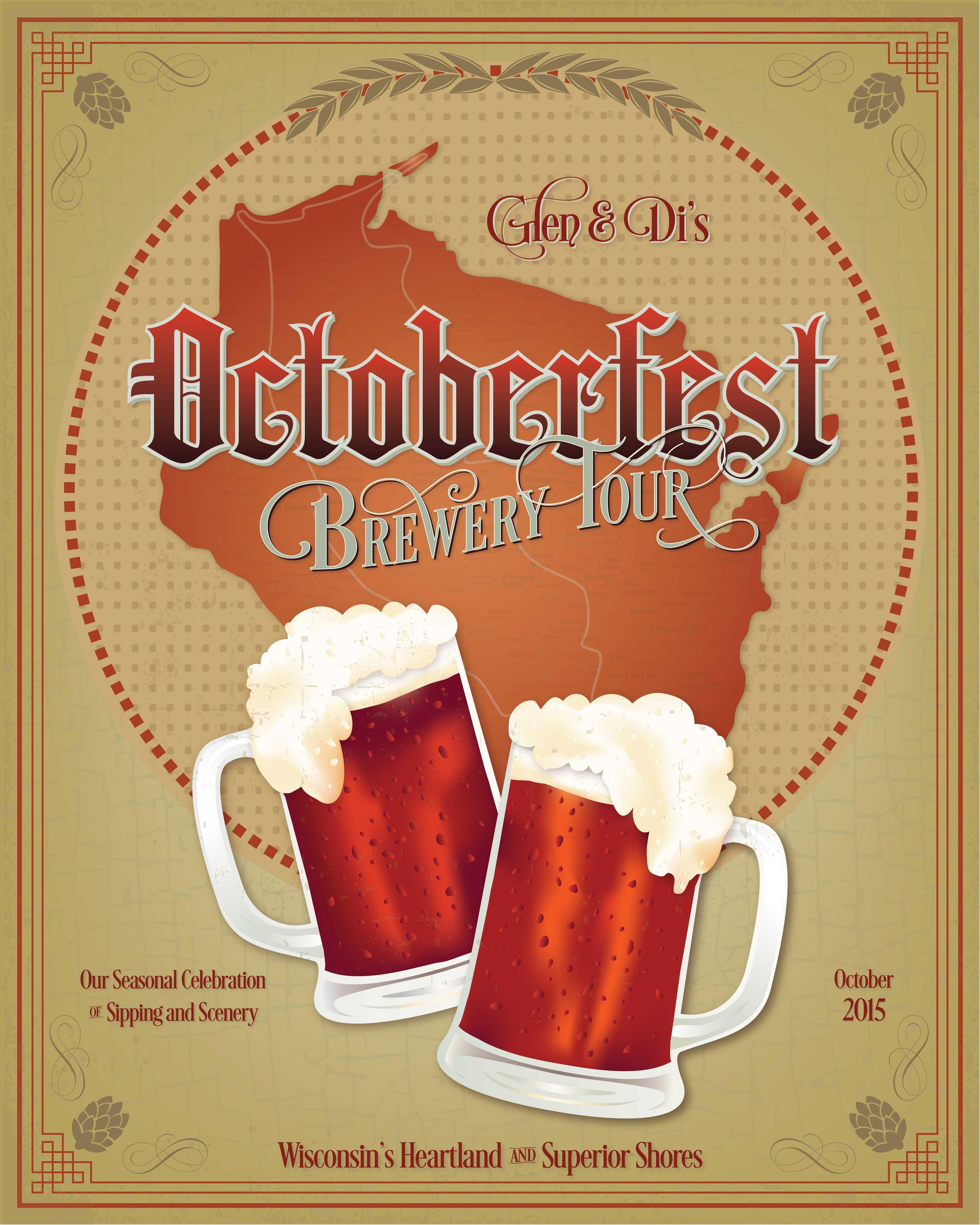 Octoberfest Beer Poster by Adunate, Oktoberfest