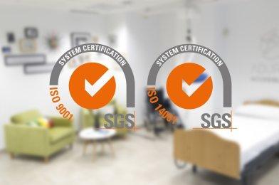 Adurbe certificada en calidad y medio ambiente