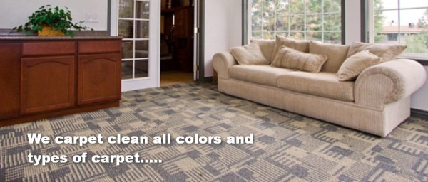 all carpet types and colors cleaned