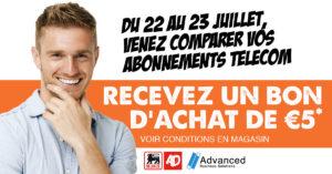 Advanced Business Solutions - Evenement comparatif abonnement AD Delhaize ghlin