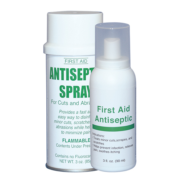 Antiseptic spray advanced first aid for Hydrogen peroxide on tattoo