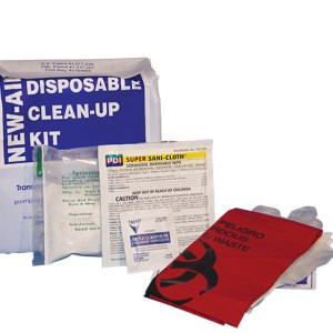 Disposible Cleanup Kit