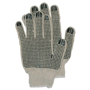 Double Side Dot String Knit Gloves
