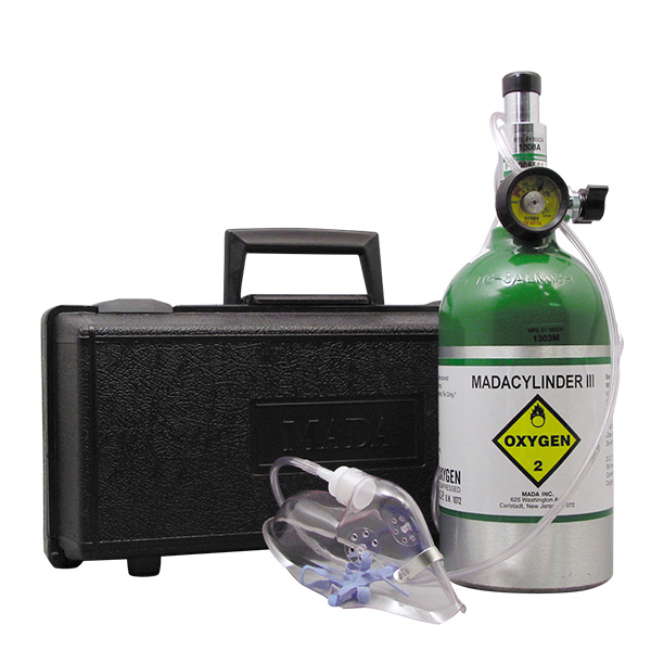 Oxygen Mask with Case