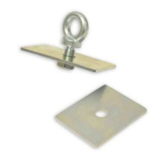 eye bolt and anchor plate