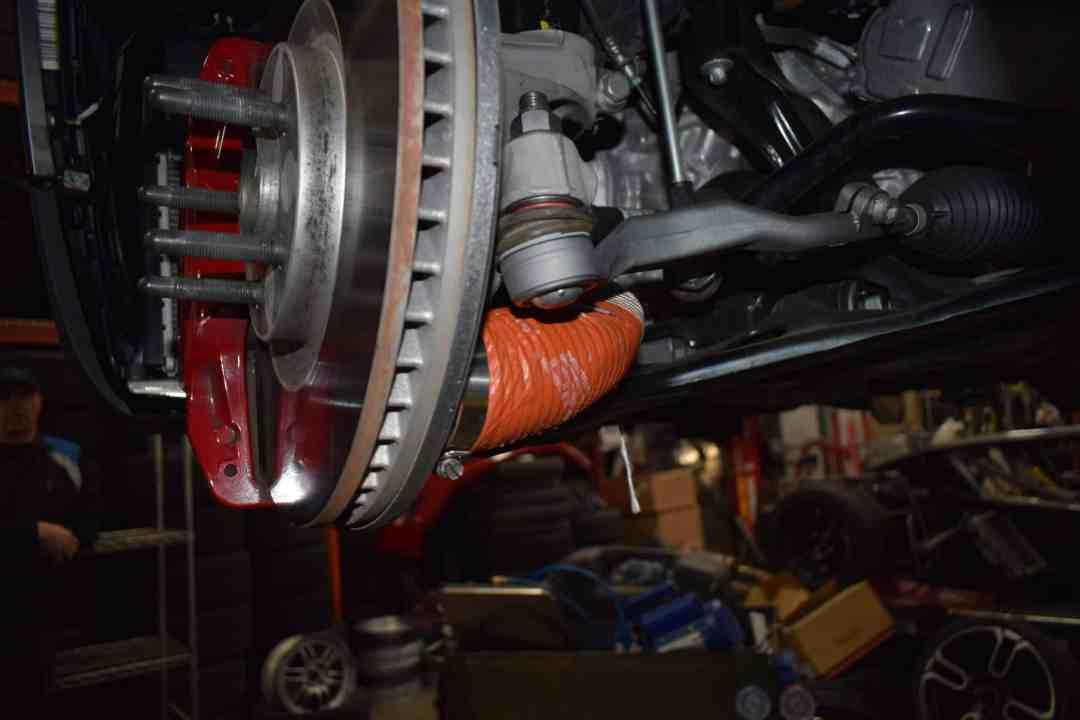 F65 front break duct kit