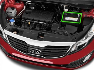 Kia Sportage Car Battery Location
