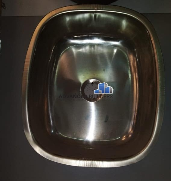 Granite kitchen sink single bowl