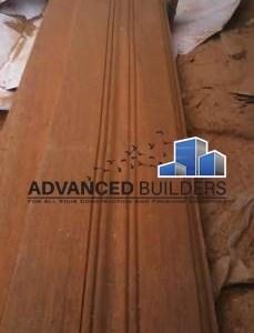 door frame mahogany vent