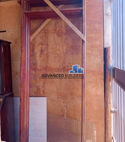 Mahogany Door Frame 10x2