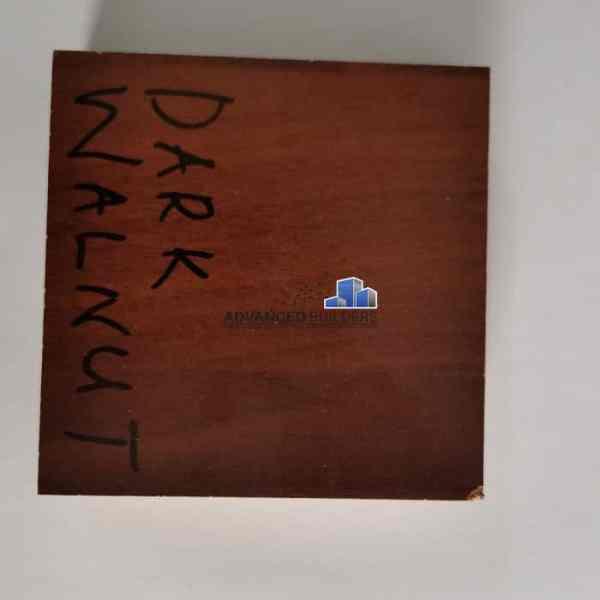 Advanced Builders MDF Board 18 mm Dark Walnut