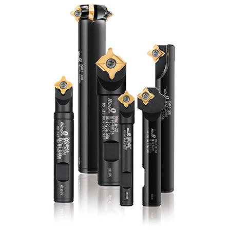 Corner rounding tool holders