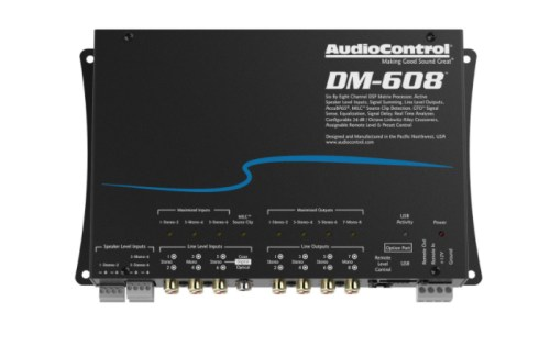 AUDIO CONTROL DM-608