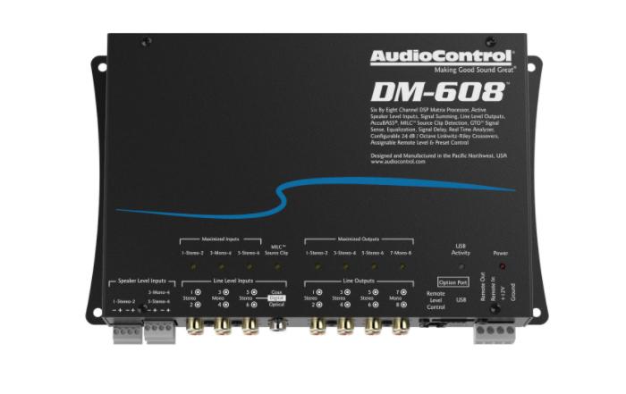 AUDIO CONTROL DM-608