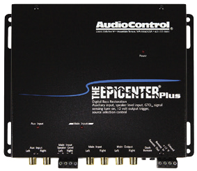 AUDIO CONTROL THE EPICENTER PLUS