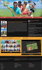 Destin Bow Fishing | Custom Web Design