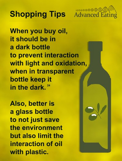 Oil shopping tips