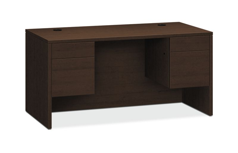 "HON 10500 Series Double Pedestal Desk | 2 Box / 2 File Drawer | 60""W 