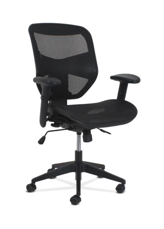 HON Prominent High-Back Task Chair | Synchro-Tilt with Seat Slide | Black Mesh