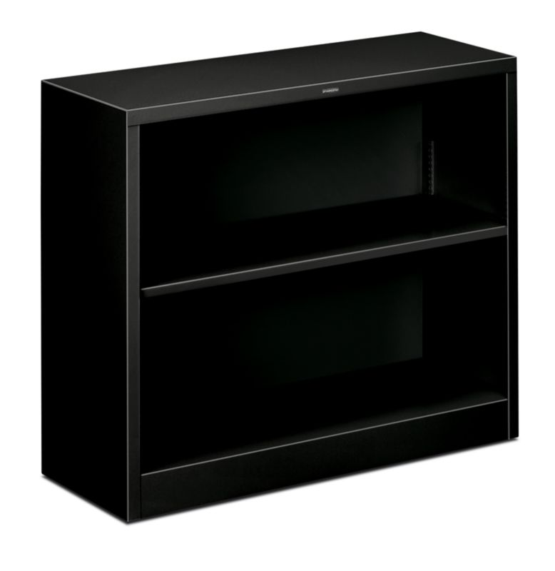 "HON Brigade Steel Bookcase | 2 Shelves | 34-1/2""W 