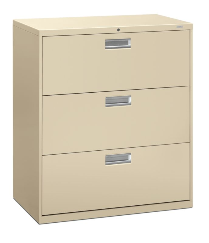 """HON Brigade 600 Series Lateral File 