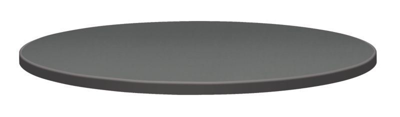 "HON Hospitality Laminate Table Top | Round | 2MM Edge | 42"" Diameter 