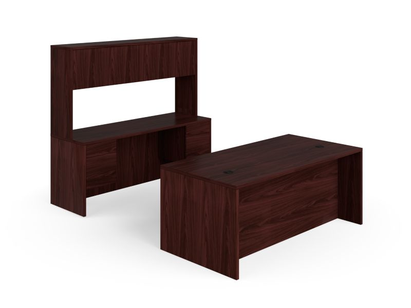 HON 10500 Series Double Pedestal Desk / Credenza