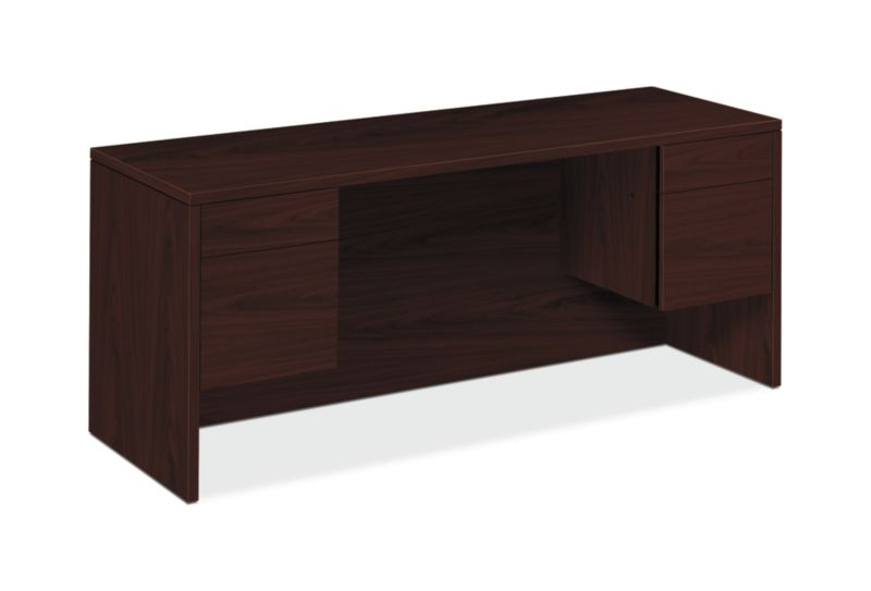 "HON 10500 Series Credenza with Kneespace | 2 Box / 2 File Drawers | 72""W 