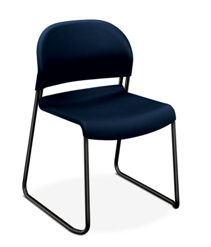 HON GuestStacker High-Density Stacking Chair   Regatta Shell
