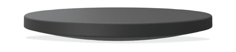 HON Round Wobble Board | Anti-Fatigue Mat | Black